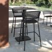 Talenti Moon Alu bar stool
