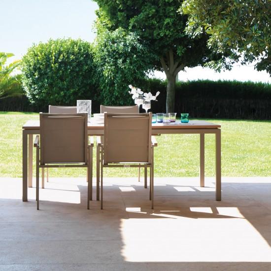 Talenti Timber tavolo dining estendibile