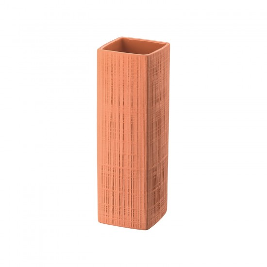 Rosenthal Sixty & Twelve Structura Fabric Coral Vase
