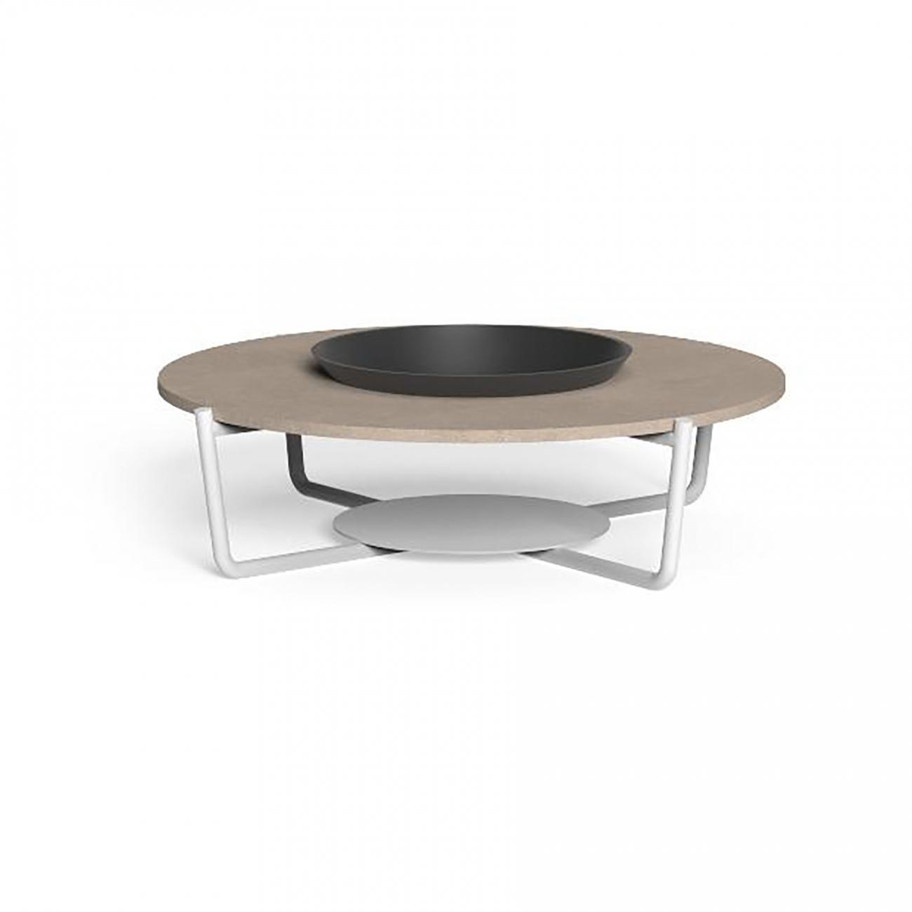 Talenti Domino round coffee table