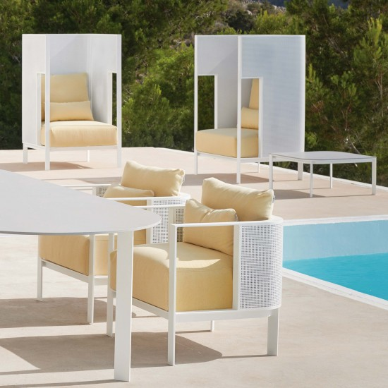 Gandia Blasco Solanas Cocoon Lounge Chair