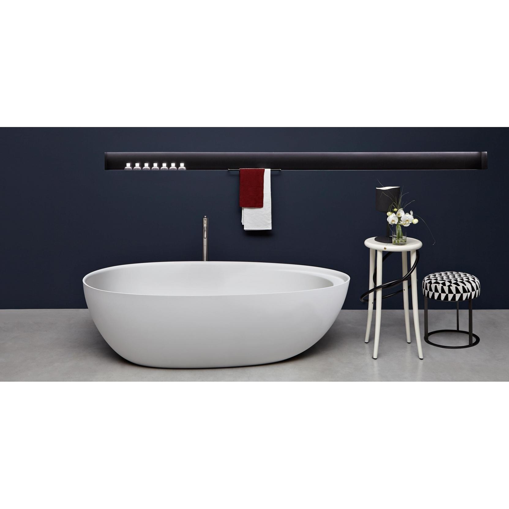 antonio lupi eclipse vasca in cristalplant tattahome. Black Bedroom Furniture Sets. Home Design Ideas