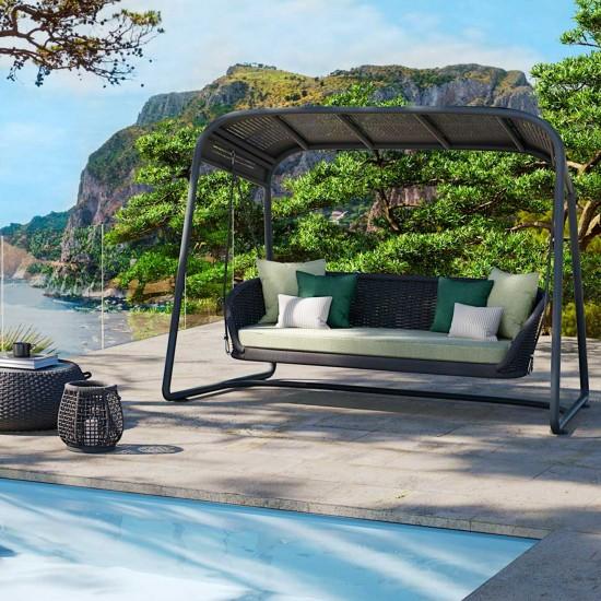 Atmosphera Ludo Rocking Sofa with Pedestal