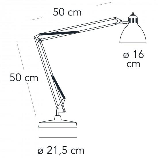 FontanaArte NASKA large table lamp