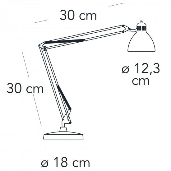 FontanaArte NASKA small table lamp