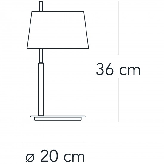 FontanaArte PASSION small table lamp