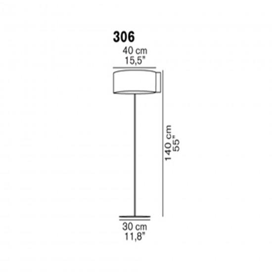 OLuce Switch 306 Floor Lamp