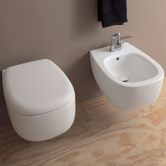 FLAMINIA BONOLA WALL HUNG WC GOCLEAN
