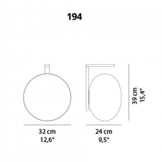 OLuce Alba 194 Wall lamp