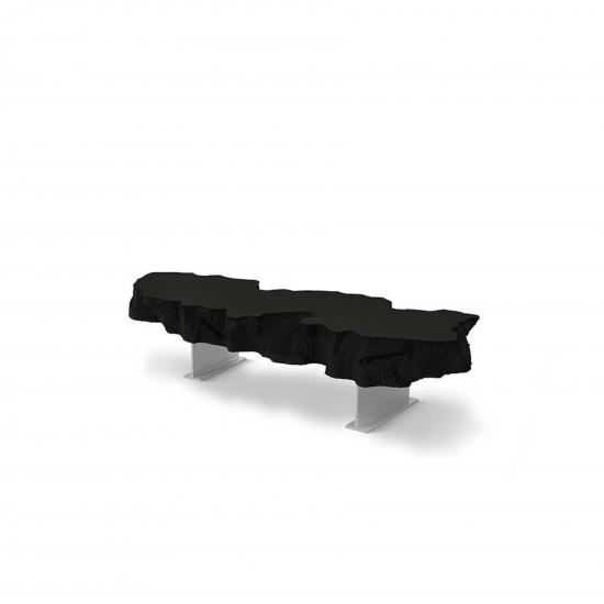Gufram Broken Bench Black