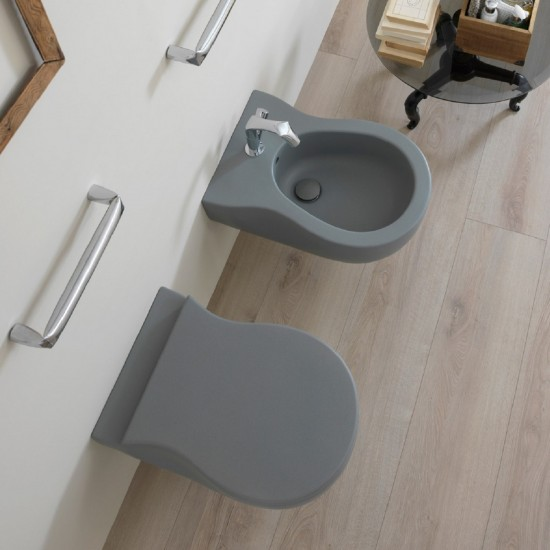 FLAMINIA PINCH WALL HUNG WC GOCLEAN