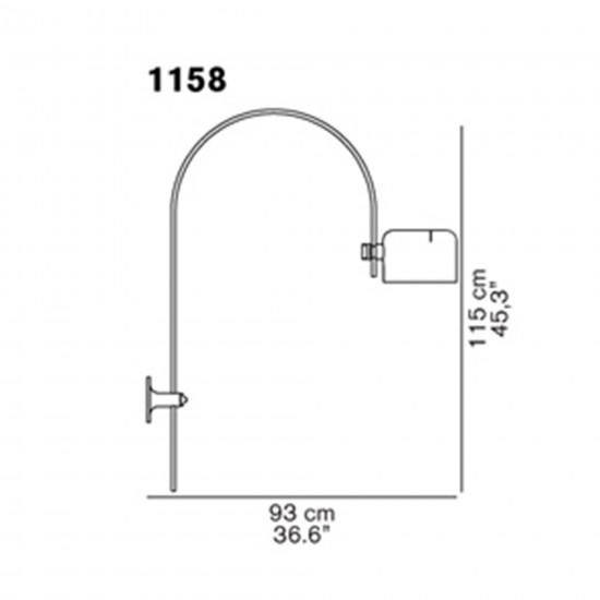 OLuce Coupè 1158 Wall lamp