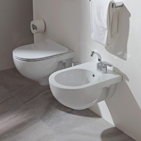 FLAMINIA QUICK WALL MOUNTED BIDET