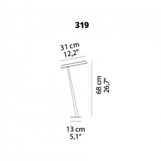 OLuce Amanita 319 Suspension lamp