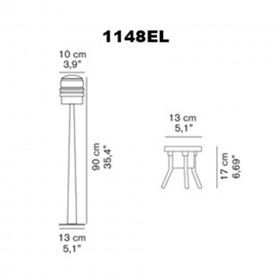 OLuce Fresnel 1148EL Outdoor lamp