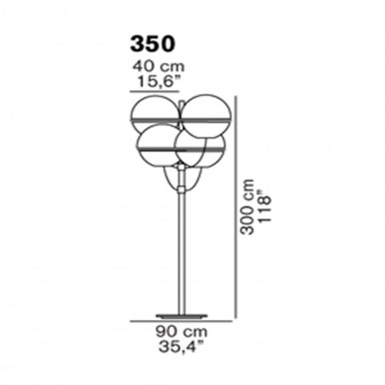 OLuce Lyndon 350 Outdoor lamp