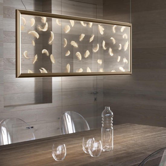 Olev Poly Plumage Suspension Lamp