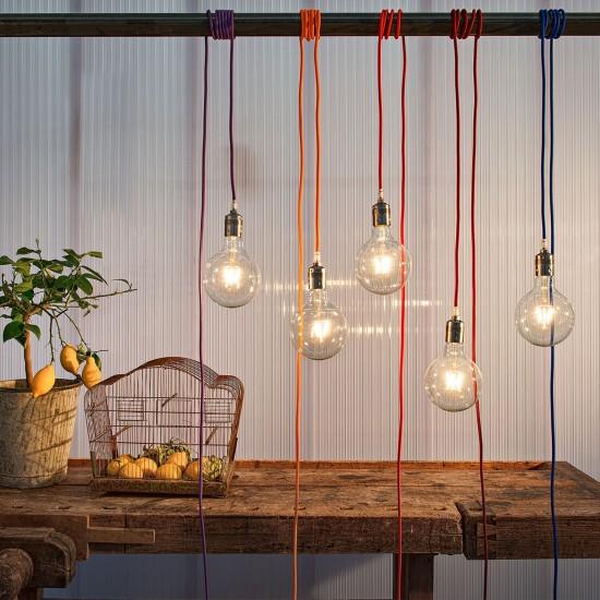 Olev Simple Colour Suspension Lamp