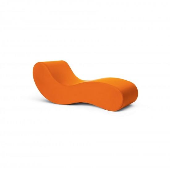 Gufram Alvar Chaise Longue Orange