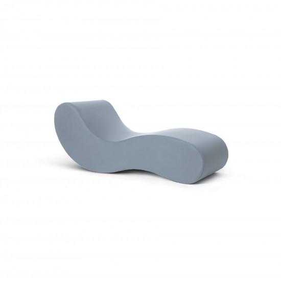 Gufram Alvar Chaise Longue Grey