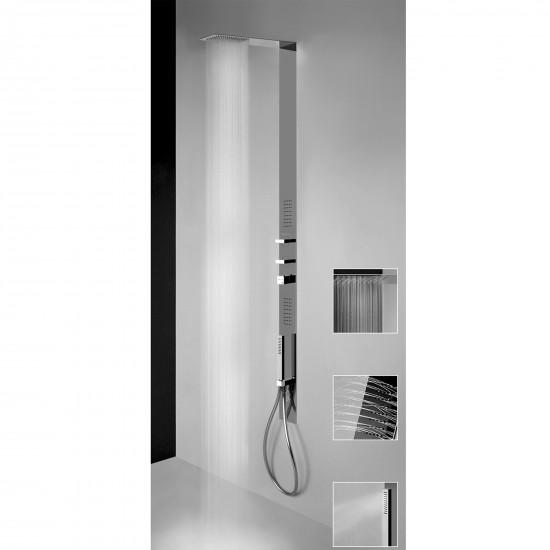 Gessi Tremillimetri thermostatic shower-column