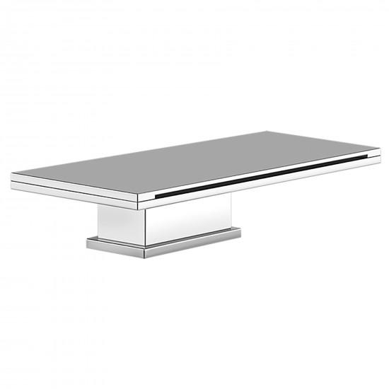 Gessi Cascata deck mounted bath spout