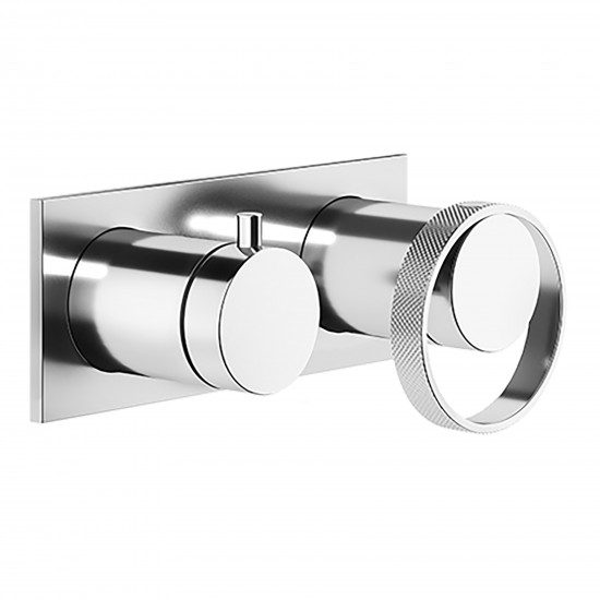Gessi Anello wall mounted bathroom shower mix
