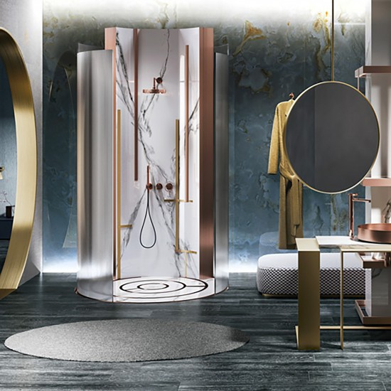 Gessi Anello wall mounted shower mix