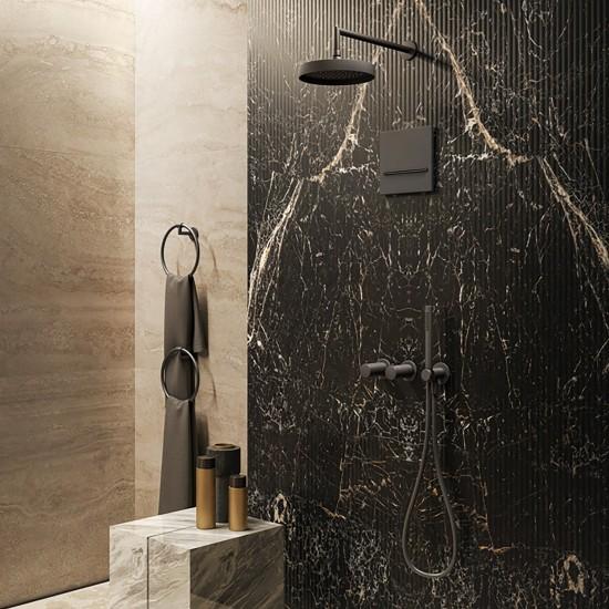 Gessi Ingranaggio wall mounted showerhead