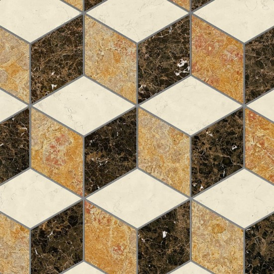 Bisazza Marble Collection Capalbio Noce