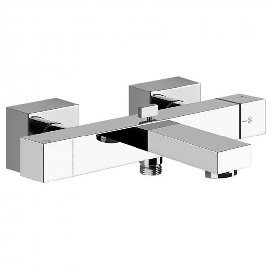 Gessi Rettangolo K wall-mounted bath thermostatic mix