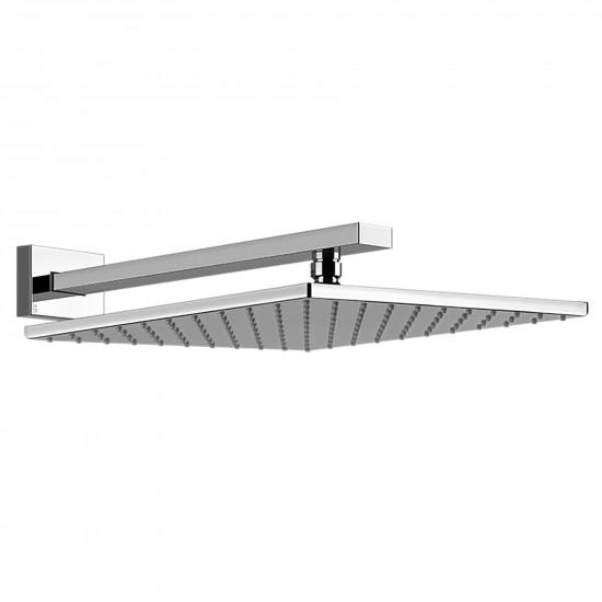Gessi Rettangolo wall-mounted showerhead
