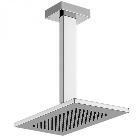 Gessi Rettangolo soffione doccia a soffitto