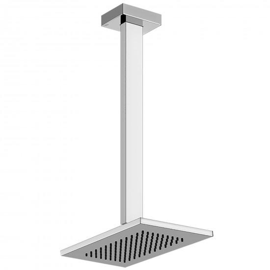 Gessi Rettangolo ceiling-mounted showerhead