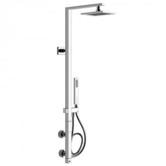 Gessi Rettangolo thermostatic shower column