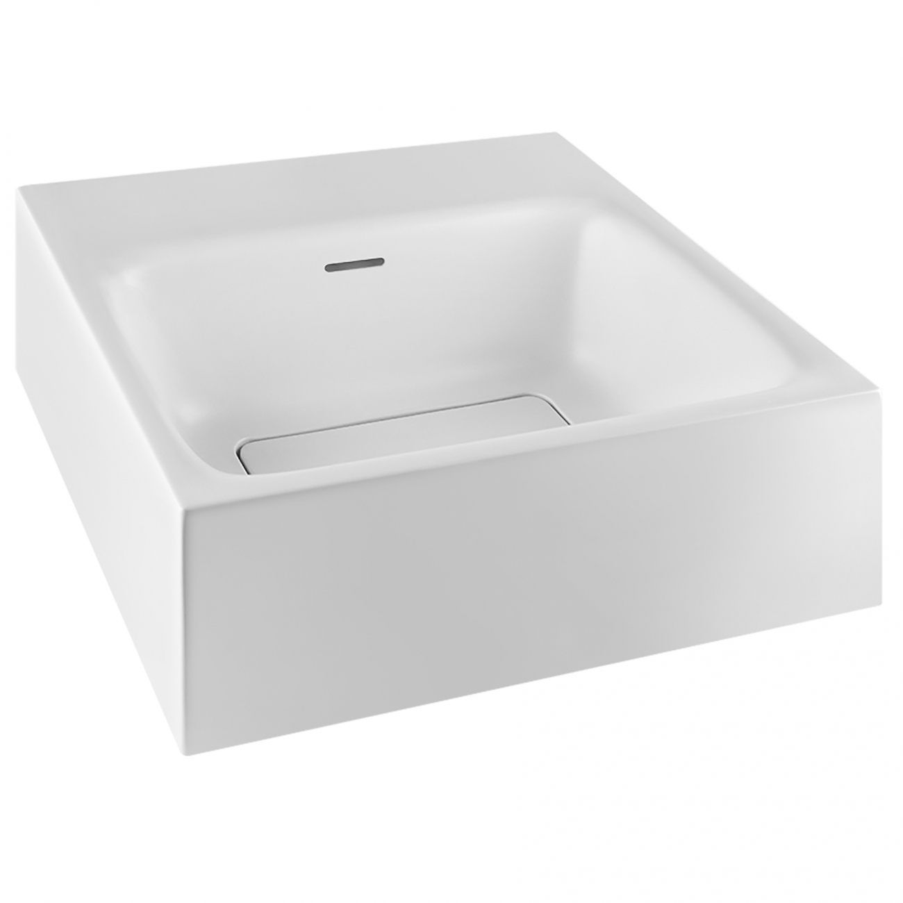 Gessi Rettangolo wall mounted or counter washbasin
