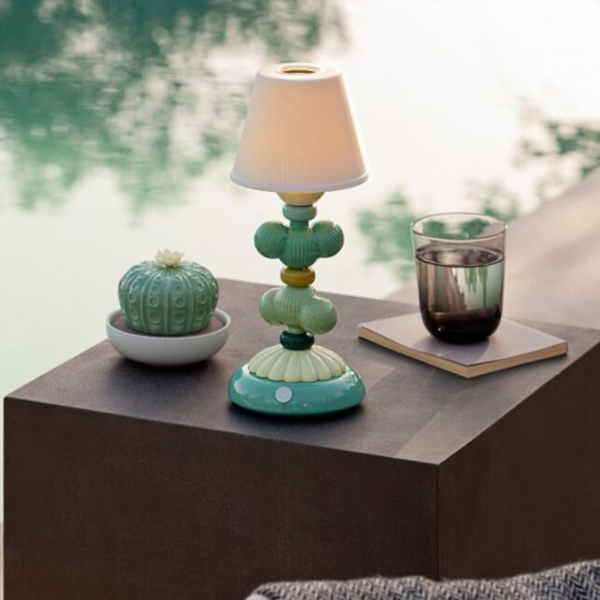 Lladró Firefly Cactus Lampada da tavolo