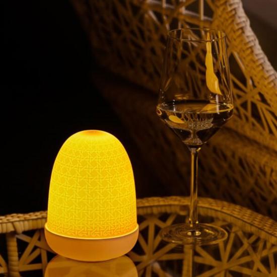 Lladró Wicker Dome Lampada da tavolo