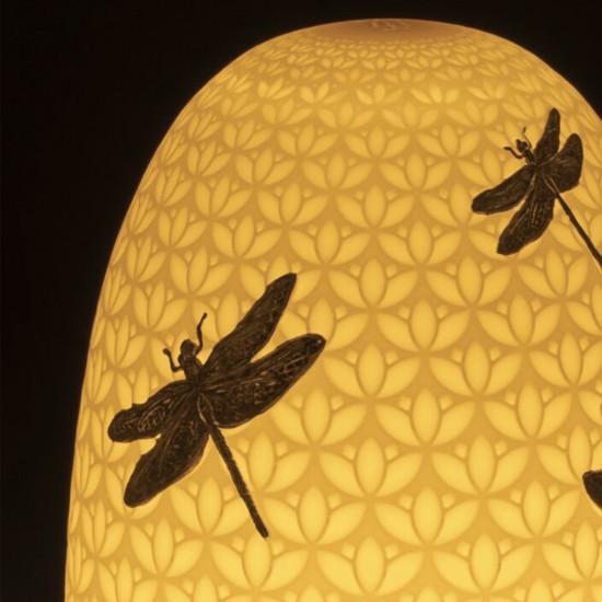 Lladró Dragonflies Dome Lampada da tavolo
