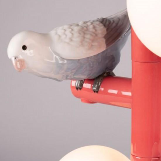 Lladró Parrot Lampada da tavolo