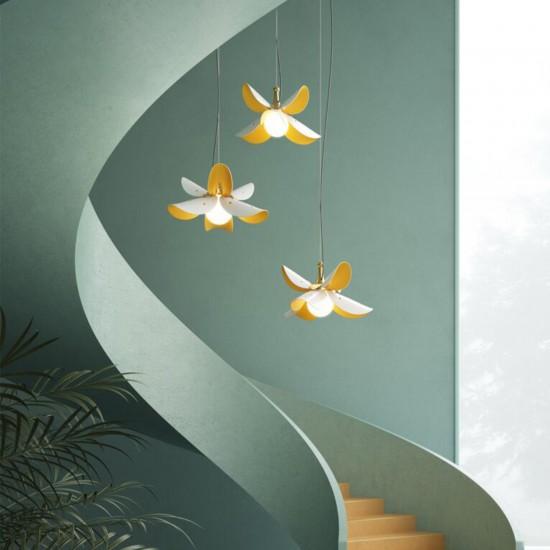 Lladró Blossom Suspension Lamp