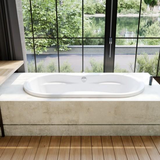 Kaldewei Mega Duo Oval Bathtub