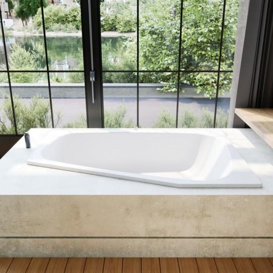 Kaldewei Plaza Duo Left  Bathtub