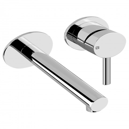 Gessi Ovale wall-mounted basin mixer