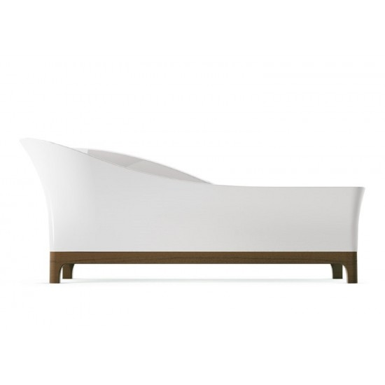 GLASS SOFA VASCA IN MINERALITE