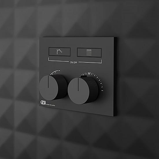 Gessi Hi-Fi Compact Thermostatic Mixer 63004