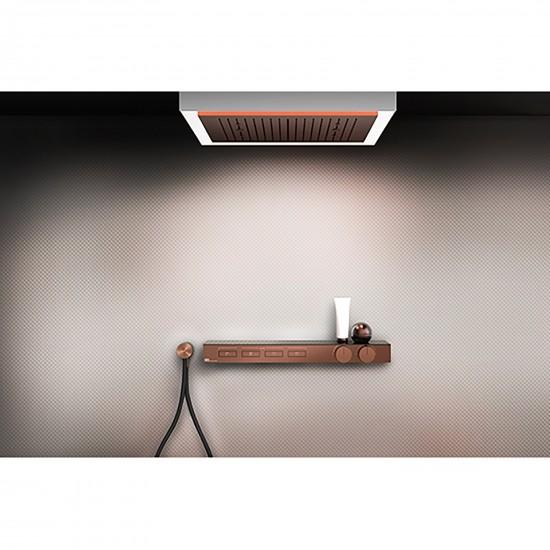 Gessi Hi-Fi Shelf thermostatic mixer
