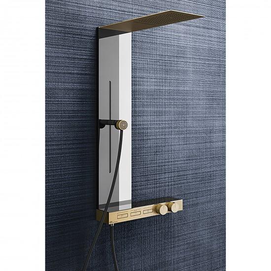 Gessi Hi-Fi colonna doccia a parete