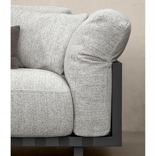 Talenti Argo Alu 3 seater sofa