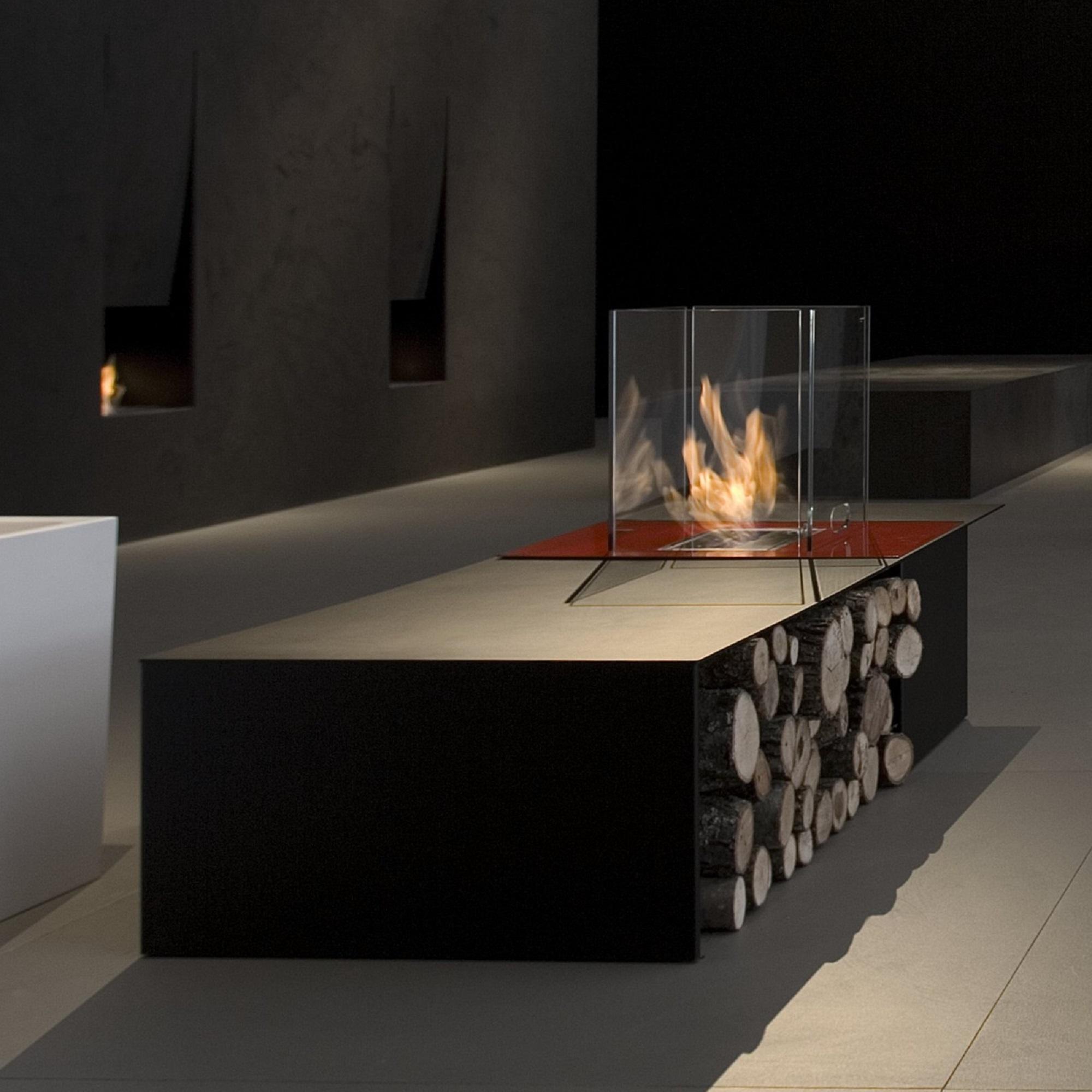 fireplace portable ebay electric itm northwest heater mini table